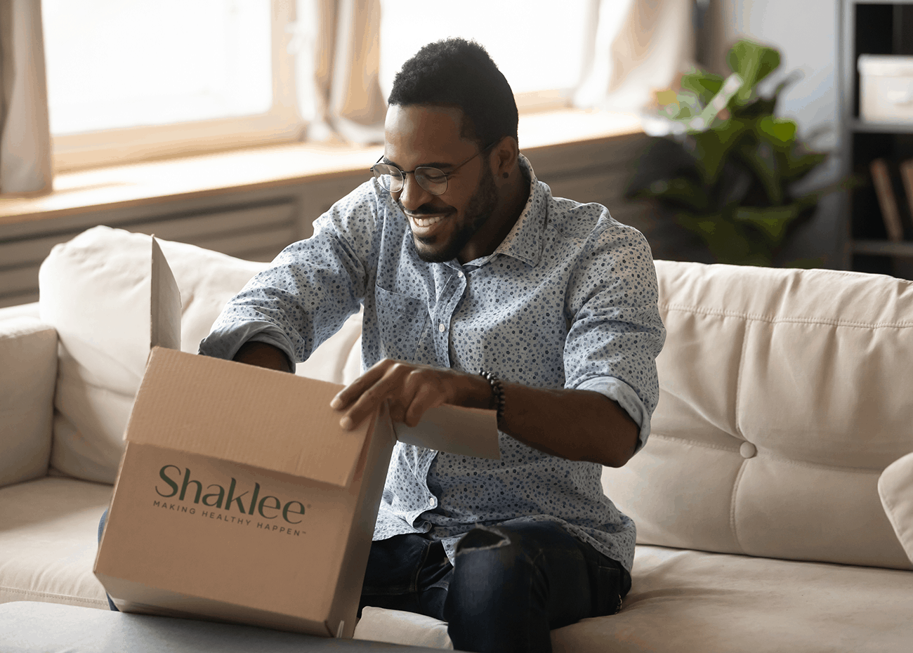 Shaklee takes care of shipping the products for you