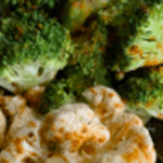 Grilled Broccoli, Cauliflower, and Carrot Medley
